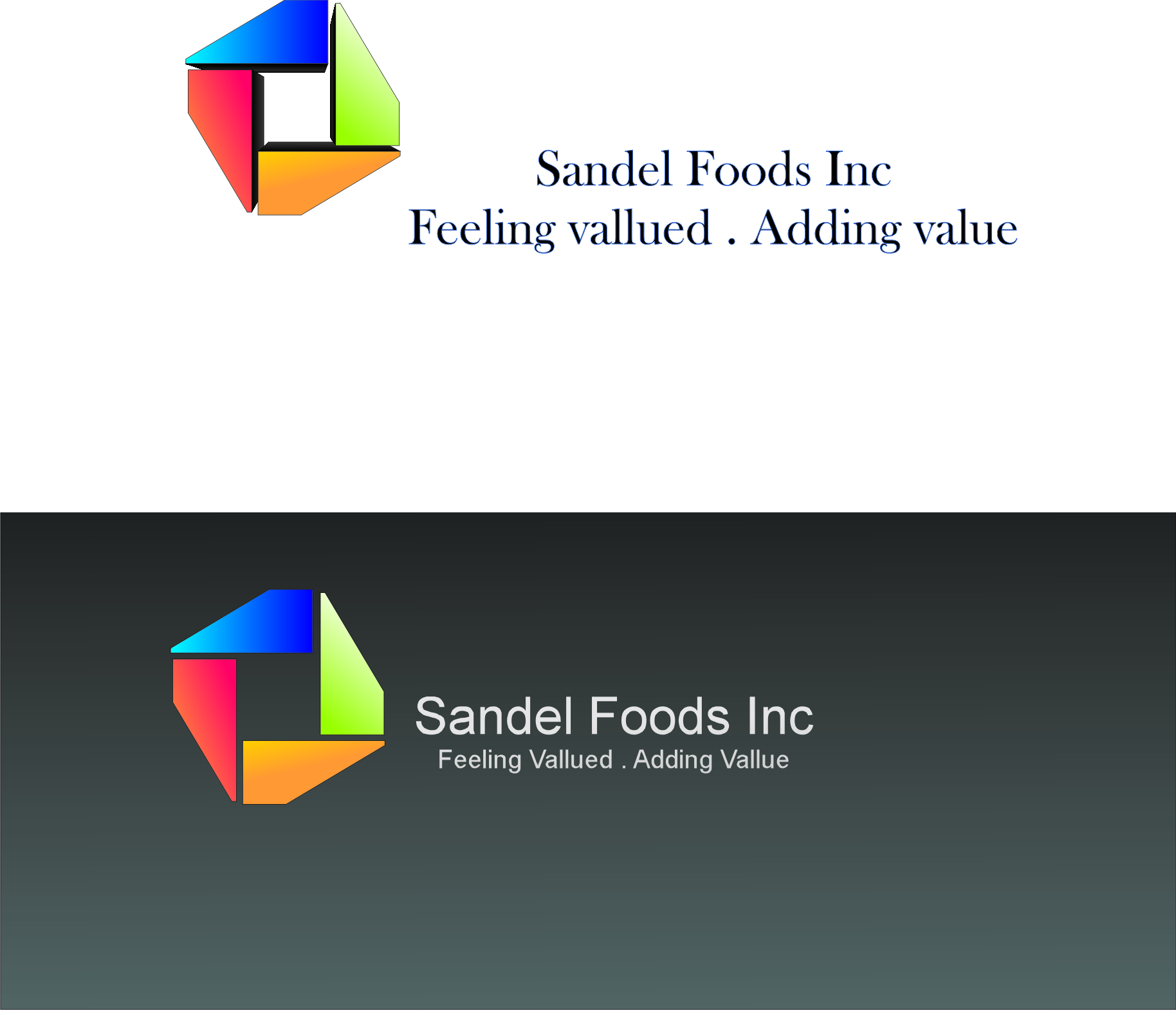 Logo Design by dimitrovart - Entry No. 18 in the Logo Design Contest Fun Logo Design for Sandel Foods Inc.