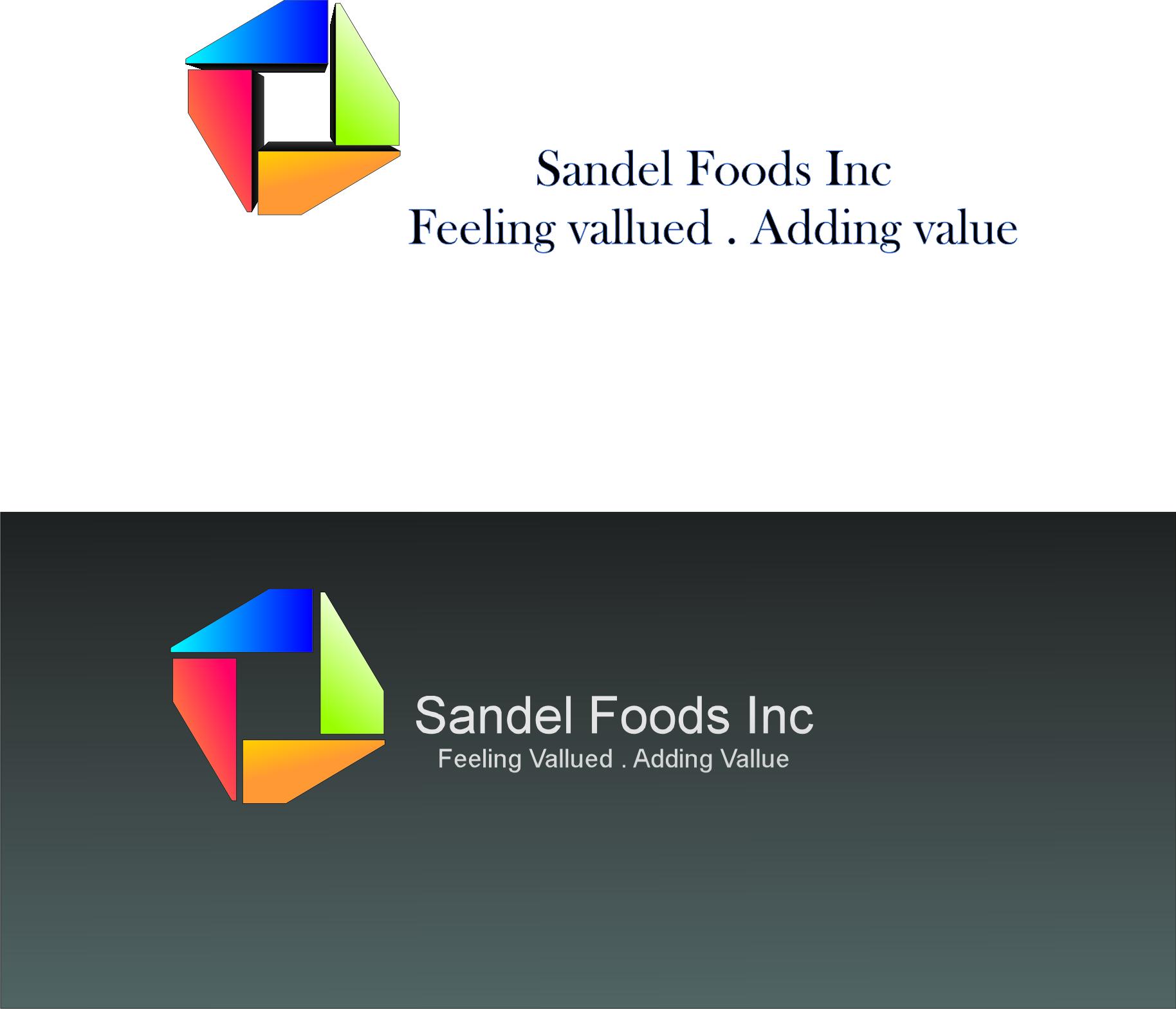 Logo Design by dimitrovart - Entry No. 18 in the Logo Design Contest Fun Logo Design for Sandel Foods Inc.