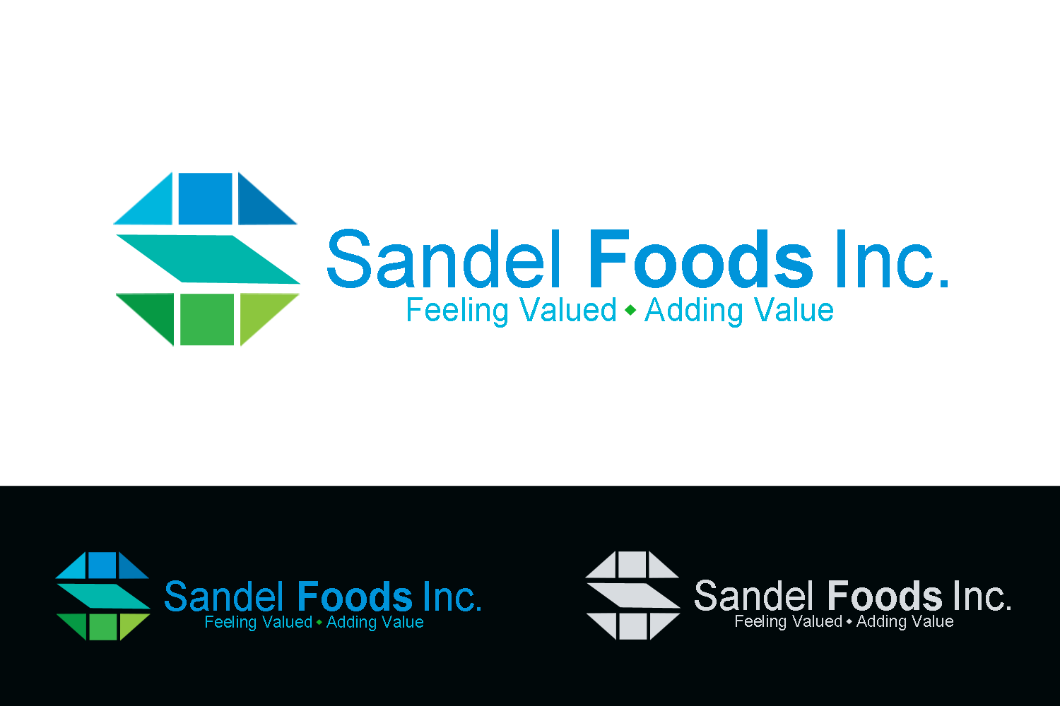 Logo Design by Golden_Hand - Entry No. 21 in the Logo Design Contest Fun Logo Design for Sandel Foods Inc.