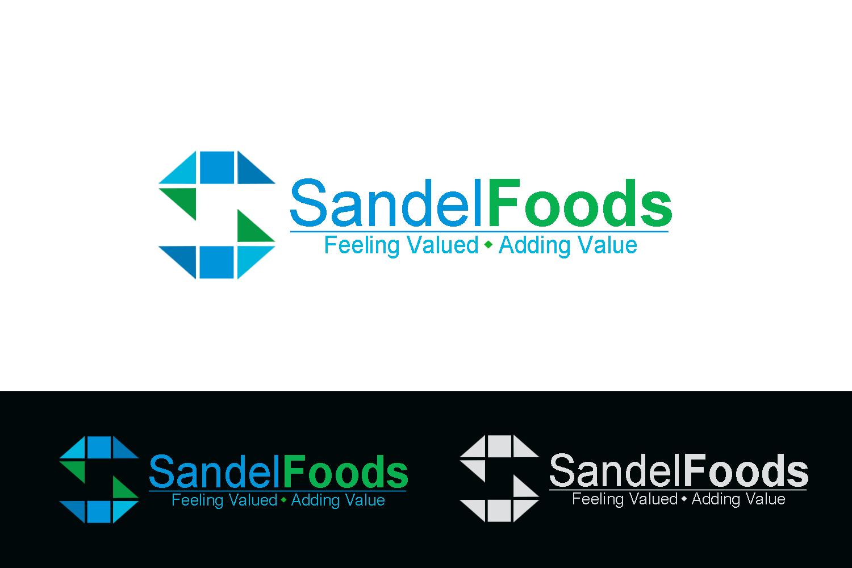 Logo Design by Golden_Hand - Entry No. 22 in the Logo Design Contest Fun Logo Design for Sandel Foods Inc.