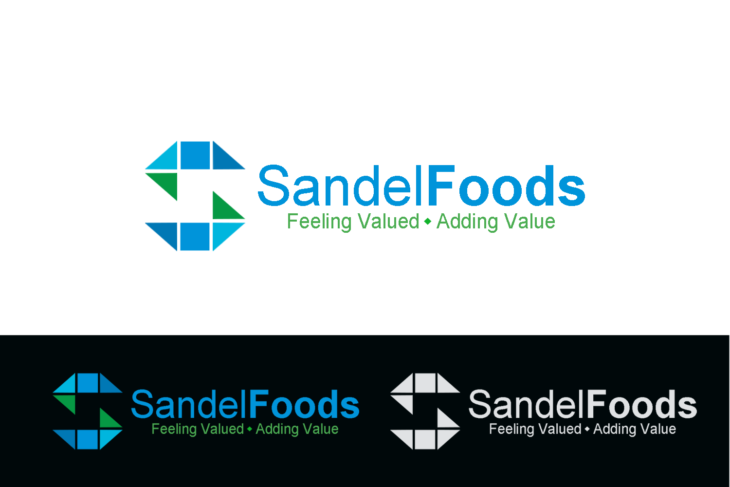 Logo Design by Golden_Hand - Entry No. 23 in the Logo Design Contest Fun Logo Design for Sandel Foods Inc.