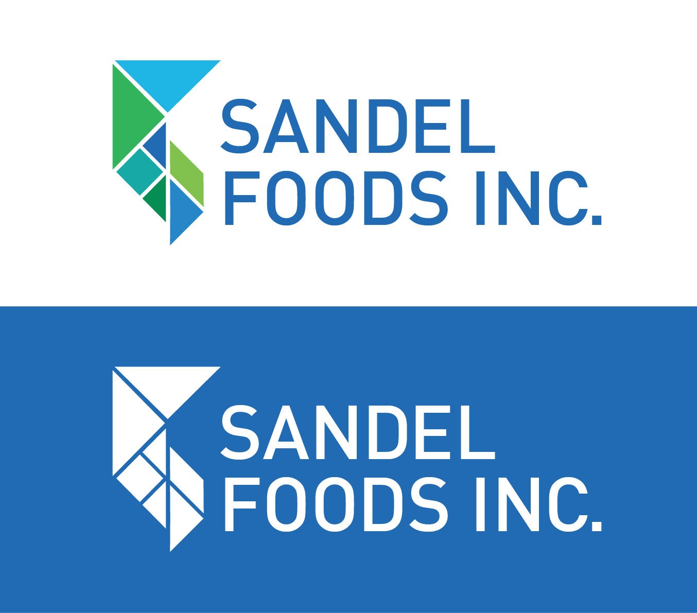 Logo Design by k92w - Entry No. 27 in the Logo Design Contest Fun Logo Design for Sandel Foods Inc.