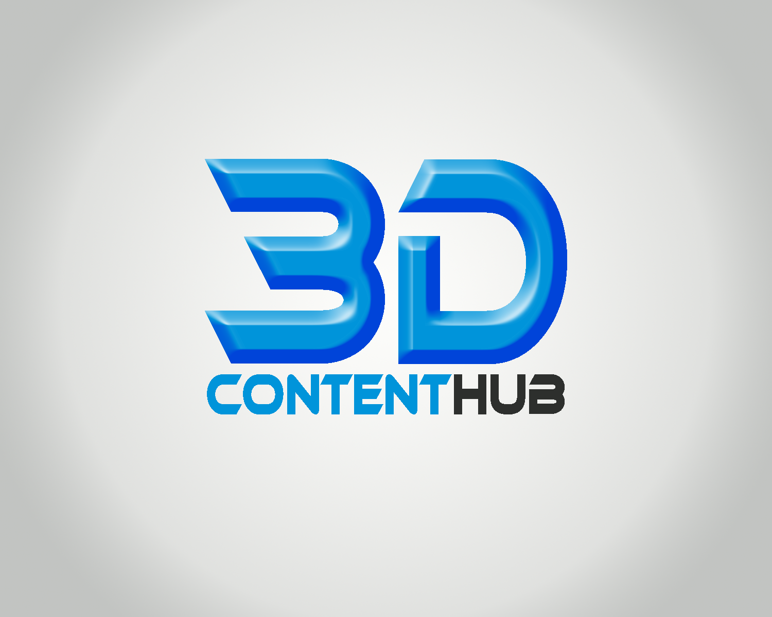 Logo Design by Golden_Hand - Entry No. 25 in the Logo Design Contest Unique Logo Design Wanted for 3DContentHub (.com).