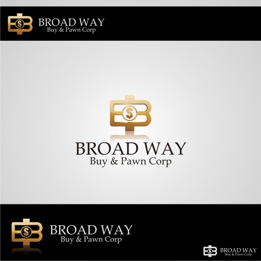 Logo Design by graphicleaf - Entry No. 4 in the Logo Design Contest Unique Logo Design Wanted for Broadway Buy & Pawn corp or BNP for short.