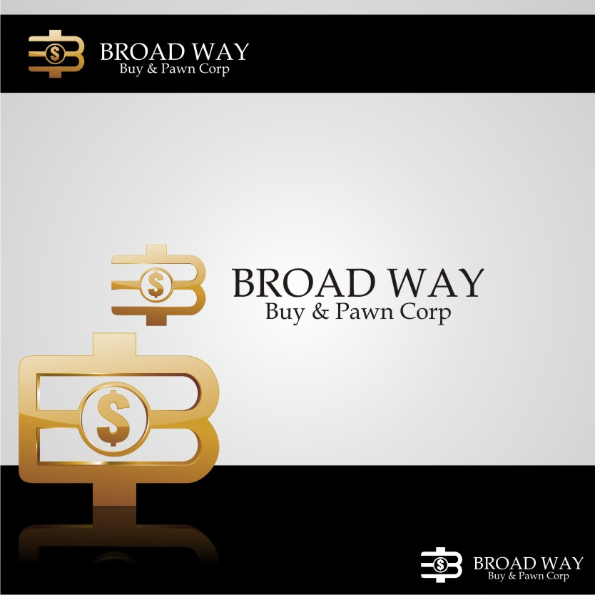 Logo Design by graphicleaf - Entry No. 5 in the Logo Design Contest Unique Logo Design Wanted for Broadway Buy & Pawn corp or BNP for short.