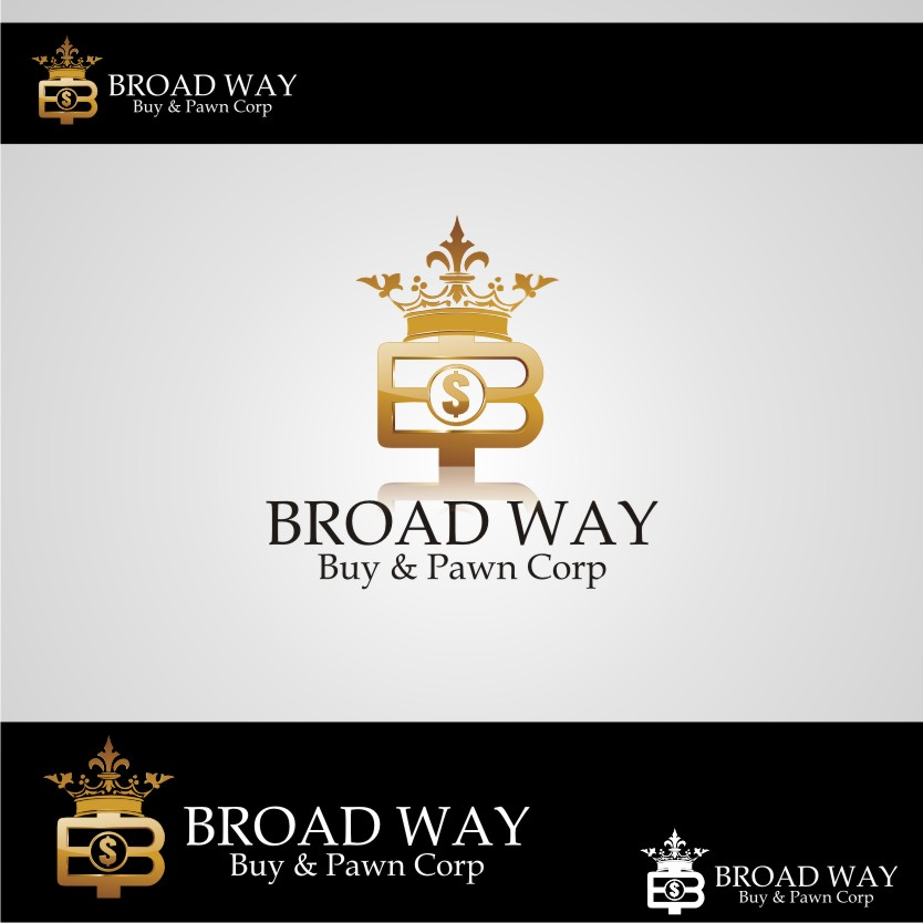 Logo Design by graphicleaf - Entry No. 12 in the Logo Design Contest Unique Logo Design Wanted for Broadway Buy & Pawn corp or BNP for short.