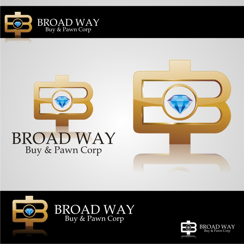 Logo Design by graphicleaf - Entry No. 18 in the Logo Design Contest Unique Logo Design Wanted for Broadway Buy & Pawn corp or BNP for short.