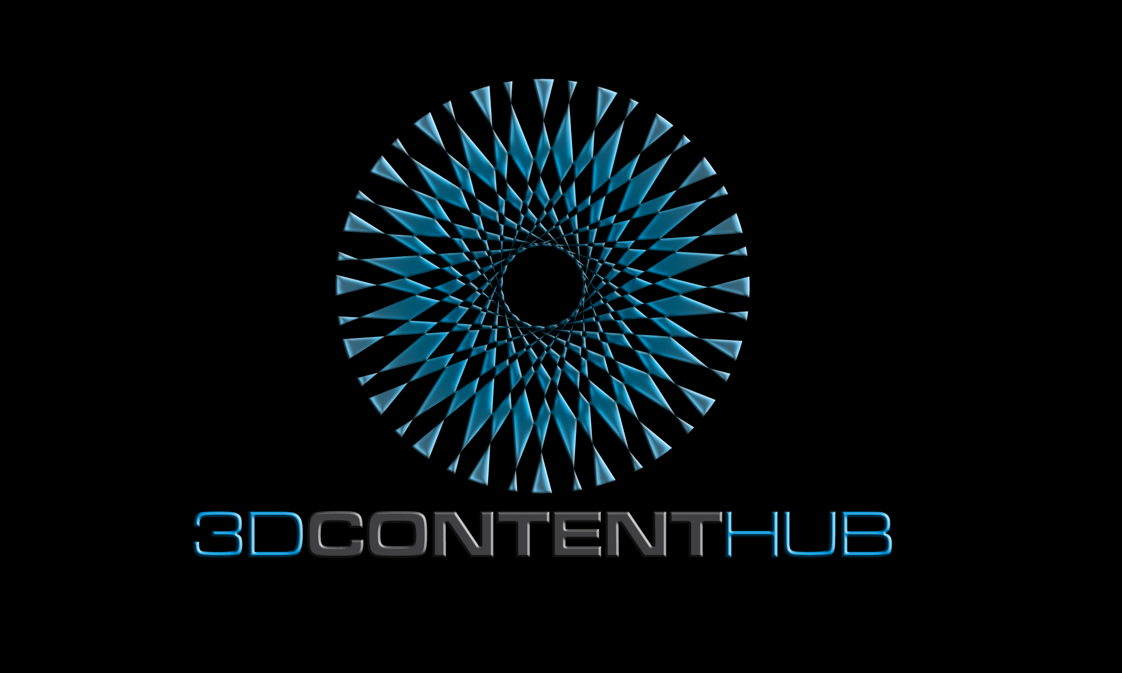 Logo Design by vdhadse - Entry No. 48 in the Logo Design Contest Unique Logo Design Wanted for 3DContentHub (.com).