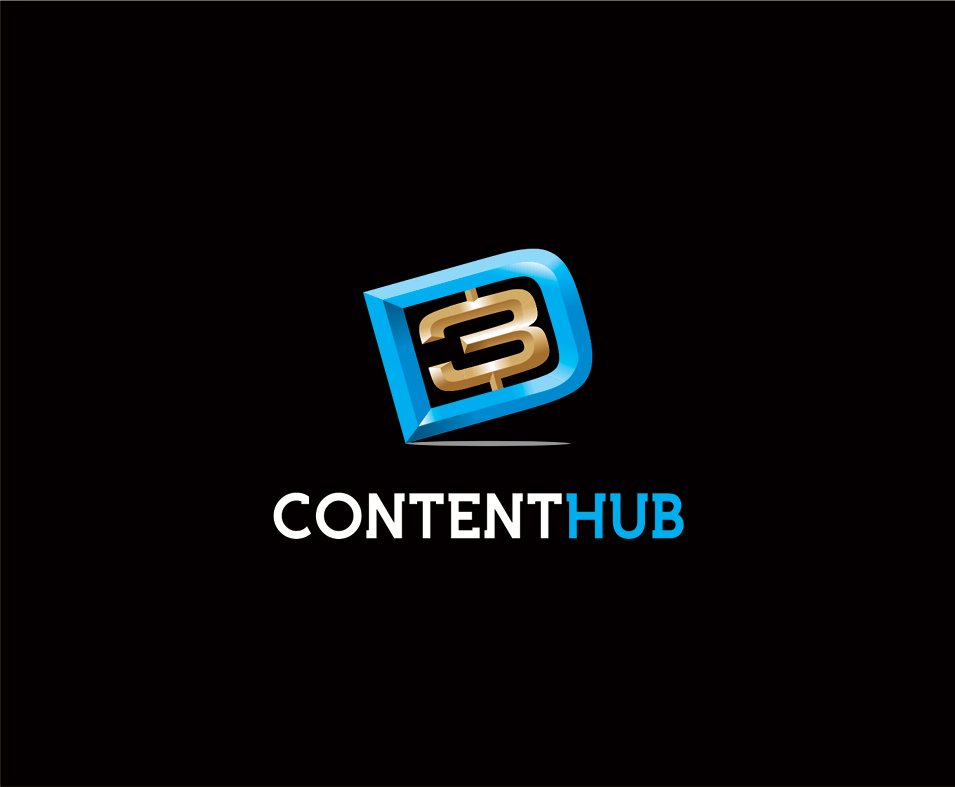 Logo Design by vdhadse - Entry No. 77 in the Logo Design Contest Unique Logo Design Wanted for 3DContentHub (.com).