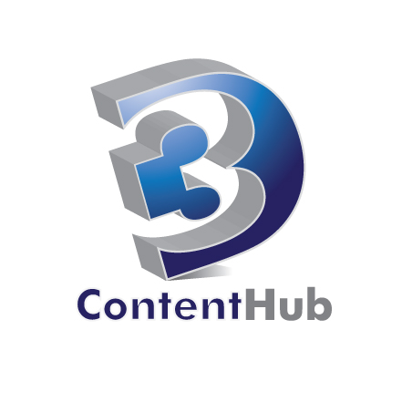 Logo Design by stormbighit - Entry No. 81 in the Logo Design Contest Unique Logo Design Wanted for 3DContentHub (.com).