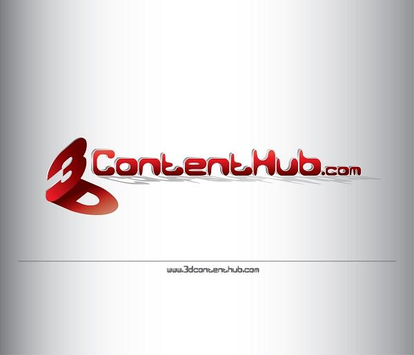 Logo Design by kowreck - Entry No. 90 in the Logo Design Contest Unique Logo Design Wanted for 3DContentHub (.com).