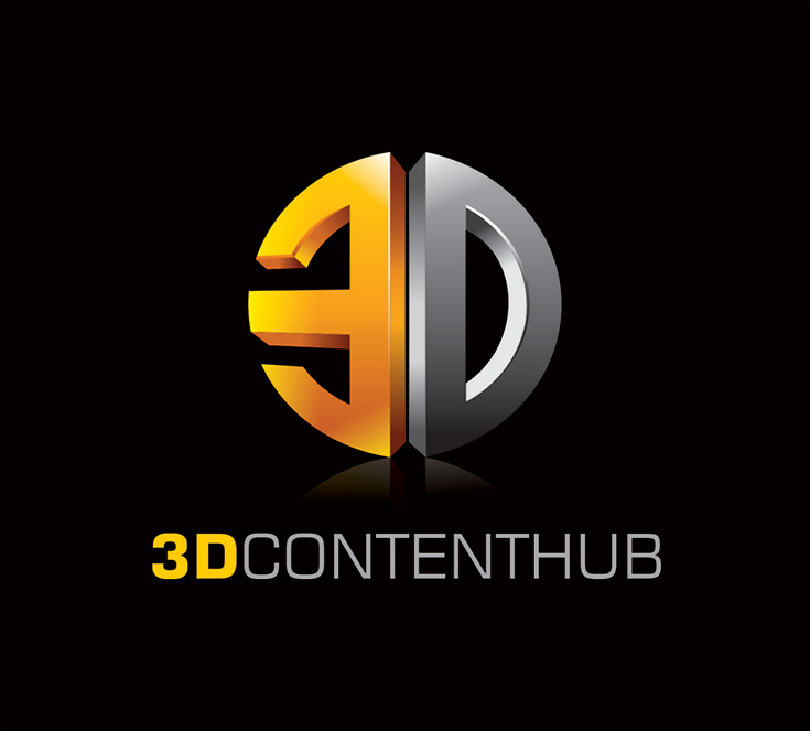 Logo Design by vdhadse - Entry No. 105 in the Logo Design Contest Unique Logo Design Wanted for 3DContentHub (.com).