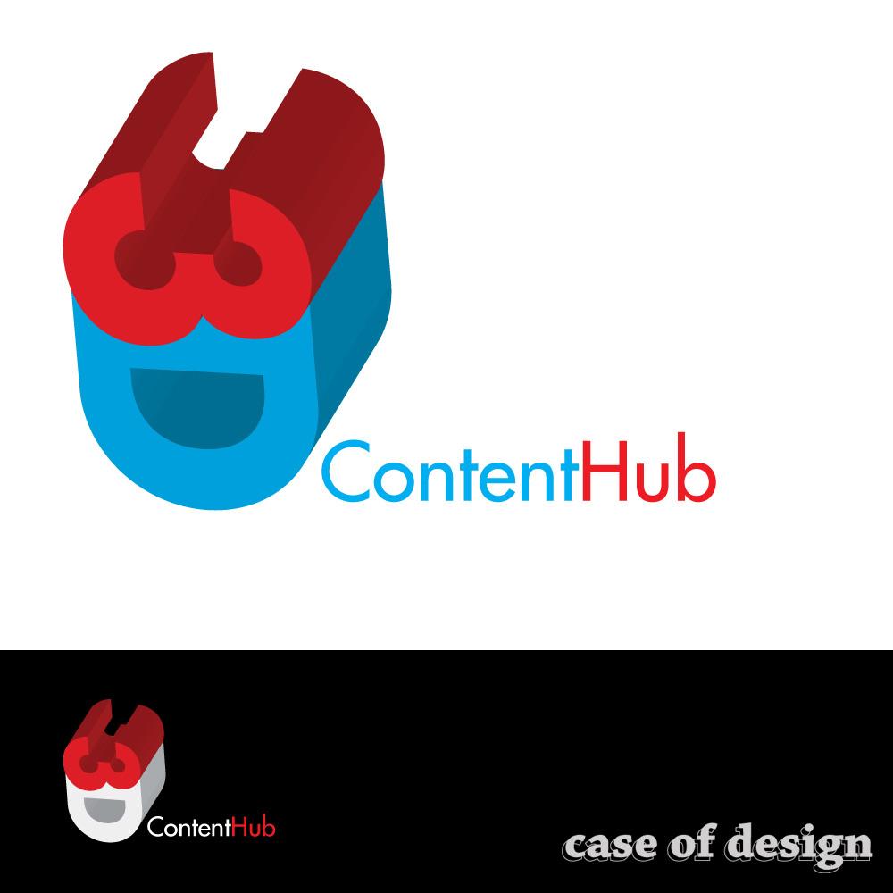 Logo Design by caseofdesign - Entry No. 111 in the Logo Design Contest Unique Logo Design Wanted for 3DContentHub (.com).