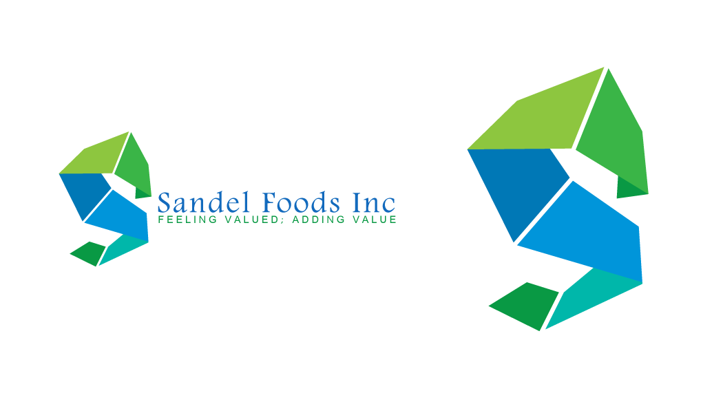 Logo Design by Crismar Abadilla - Entry No. 39 in the Logo Design Contest Fun Logo Design for Sandel Foods Inc.