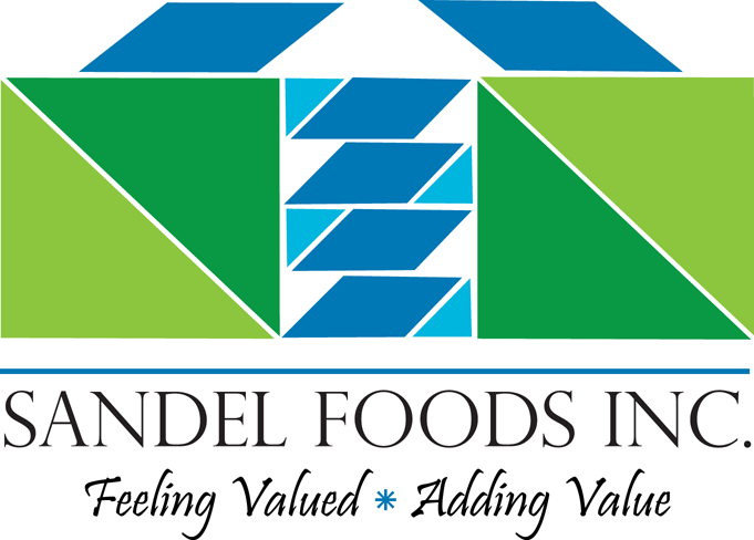 Logo Design by robken0174 - Entry No. 41 in the Logo Design Contest Fun Logo Design for Sandel Foods Inc.