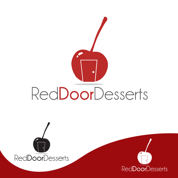 Logo Design by storm - Entry No. 1 in the Logo Design Contest Fun Logo Design for Red Door Desserts.