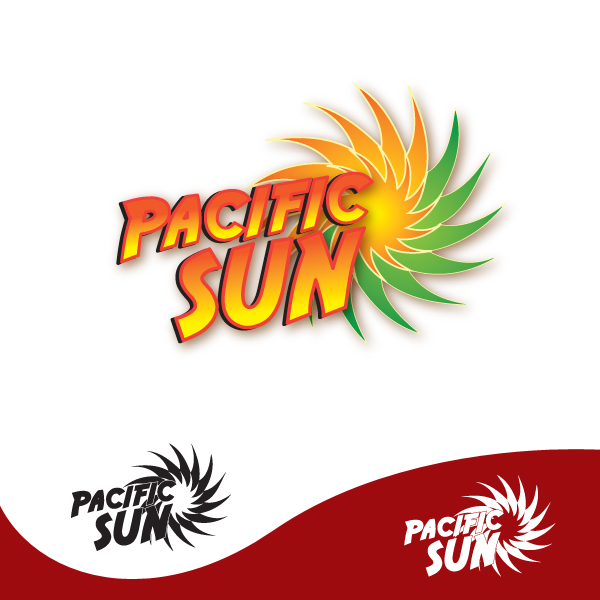 Logo Design by storm - Entry No. 6 in the Logo Design Contest New Logo Design for PACIFIC SUN.