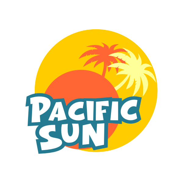 Logo Design by Rudy - Entry No. 9 in the Logo Design Contest New Logo Design for PACIFIC SUN.