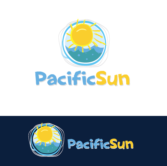 Logo Design by limix - Entry No. 13 in the Logo Design Contest New Logo Design for PACIFIC SUN.
