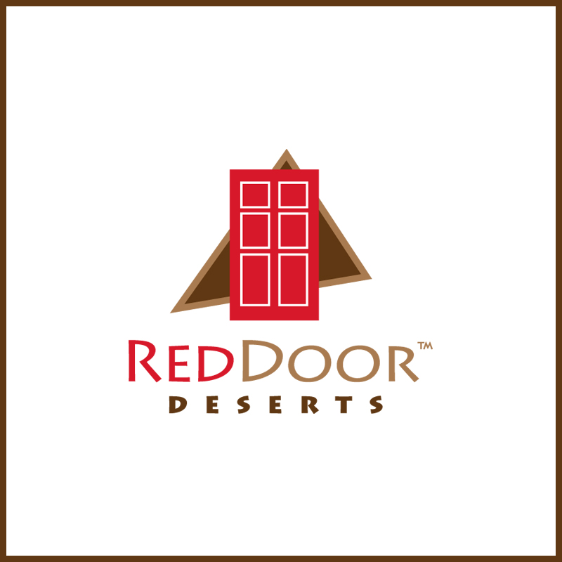 Logo Design by Number-Eight-Design - Entry No. 11 in the Logo Design Contest Fun Logo Design for Red Door Desserts.