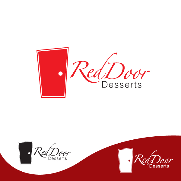 Logo Design by storm - Entry No. 14 in the Logo Design Contest Fun Logo Design for Red Door Desserts.