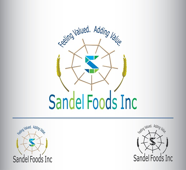 Logo Design by kowreck - Entry No. 53 in the Logo Design Contest Fun Logo Design for Sandel Foods Inc.