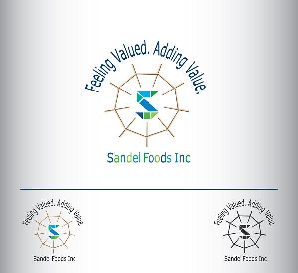 Logo Design by kowreck - Entry No. 55 in the Logo Design Contest Fun Logo Design for Sandel Foods Inc.