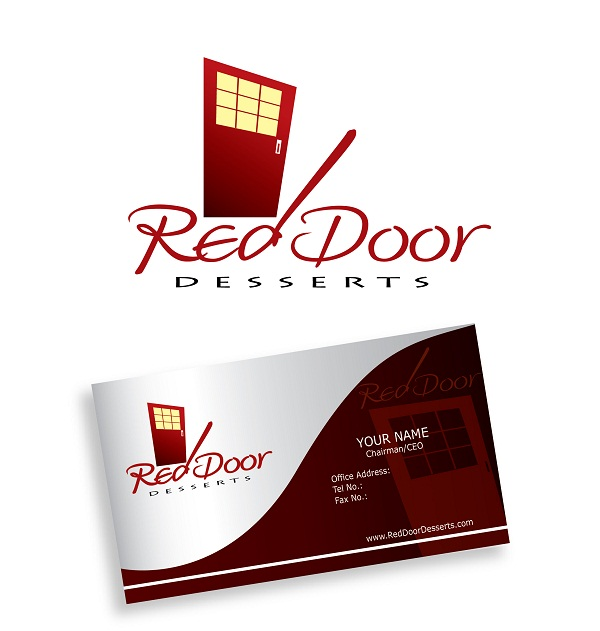 Logo Design by kowreck - Entry No. 16 in the Logo Design Contest Fun Logo Design for Red Door Desserts.