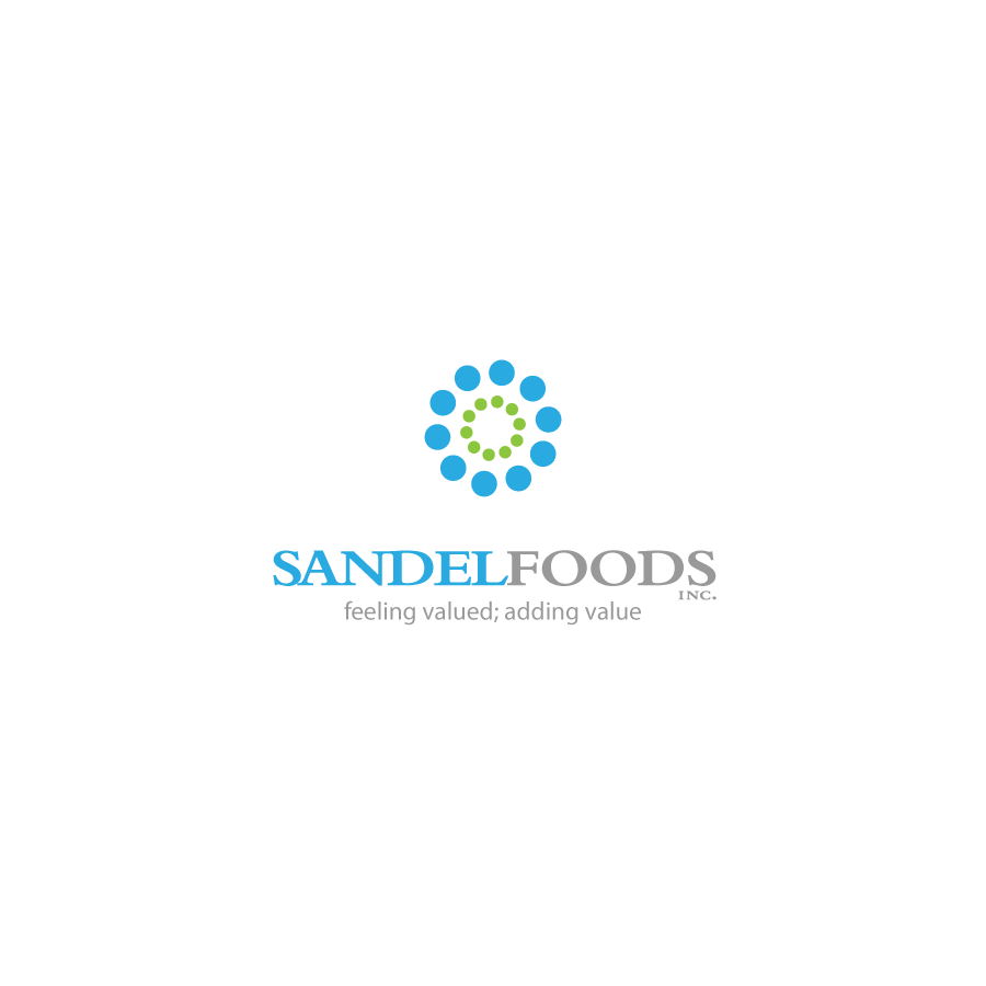 Logo Design by zesthar - Entry No. 57 in the Logo Design Contest Fun Logo Design for Sandel Foods Inc.