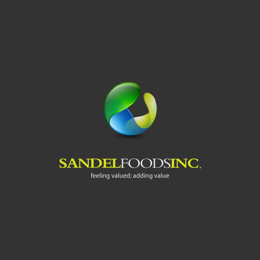 Logo Design by zesthar - Entry No. 58 in the Logo Design Contest Fun Logo Design for Sandel Foods Inc.