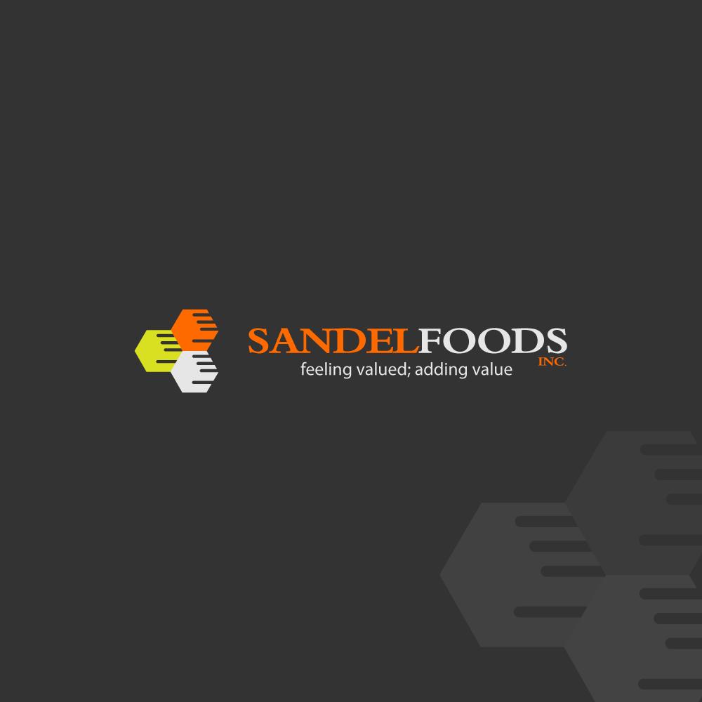 Logo Design by zesthar - Entry No. 59 in the Logo Design Contest Fun Logo Design for Sandel Foods Inc.