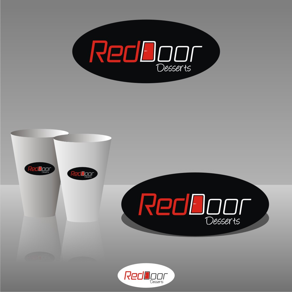 Logo Design by Muhammad Nasrul chasib - Entry No. 18 in the Logo Design Contest Fun Logo Design for Red Door Desserts.