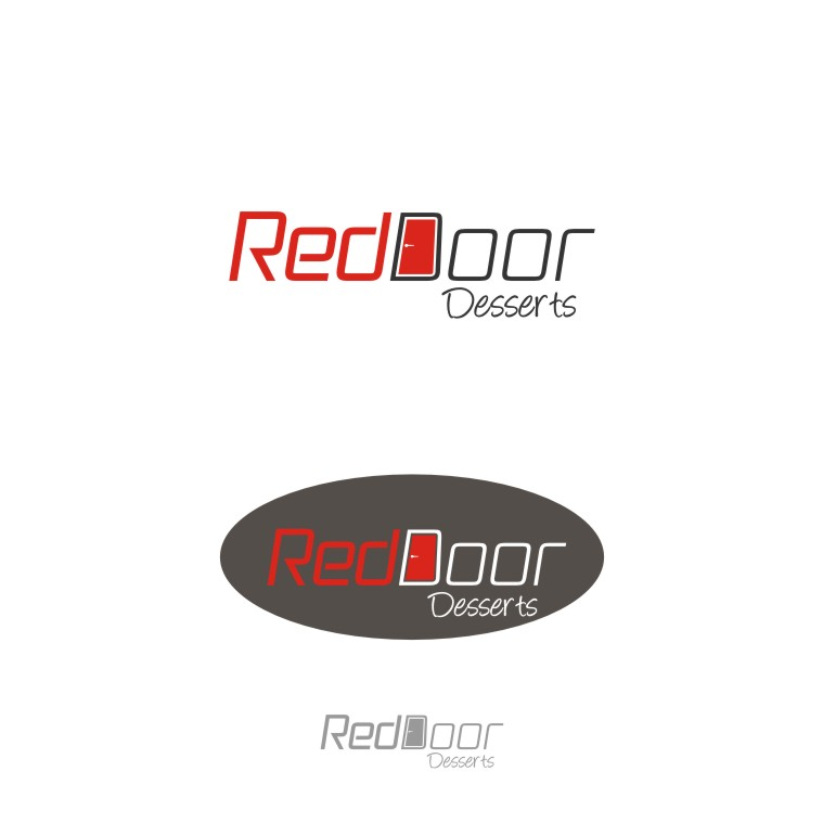 Logo Design by graphicleaf - Entry No. 20 in the Logo Design Contest Fun Logo Design for Red Door Desserts.
