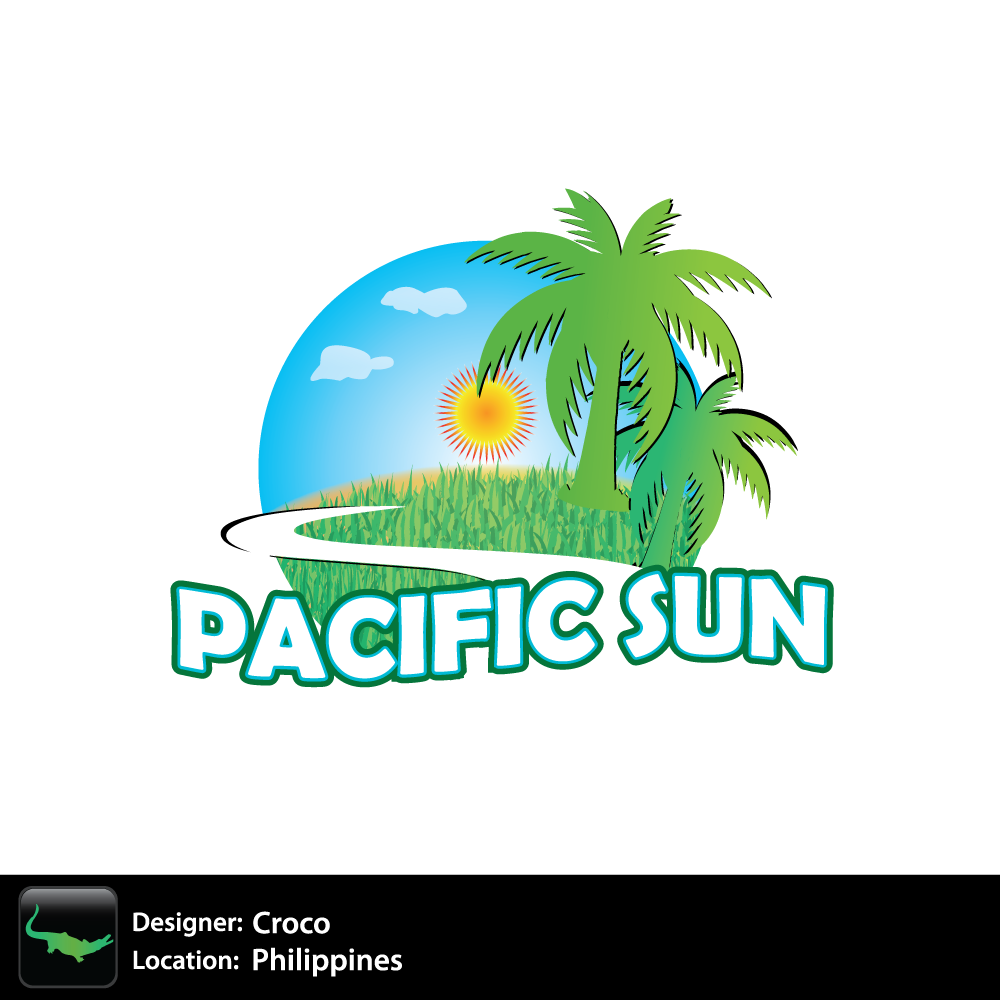 Logo Design by rockin - Entry No. 15 in the Logo Design Contest New Logo Design for PACIFIC SUN.