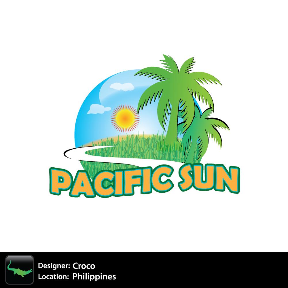 Logo Design by rockin - Entry No. 16 in the Logo Design Contest New Logo Design for PACIFIC SUN.