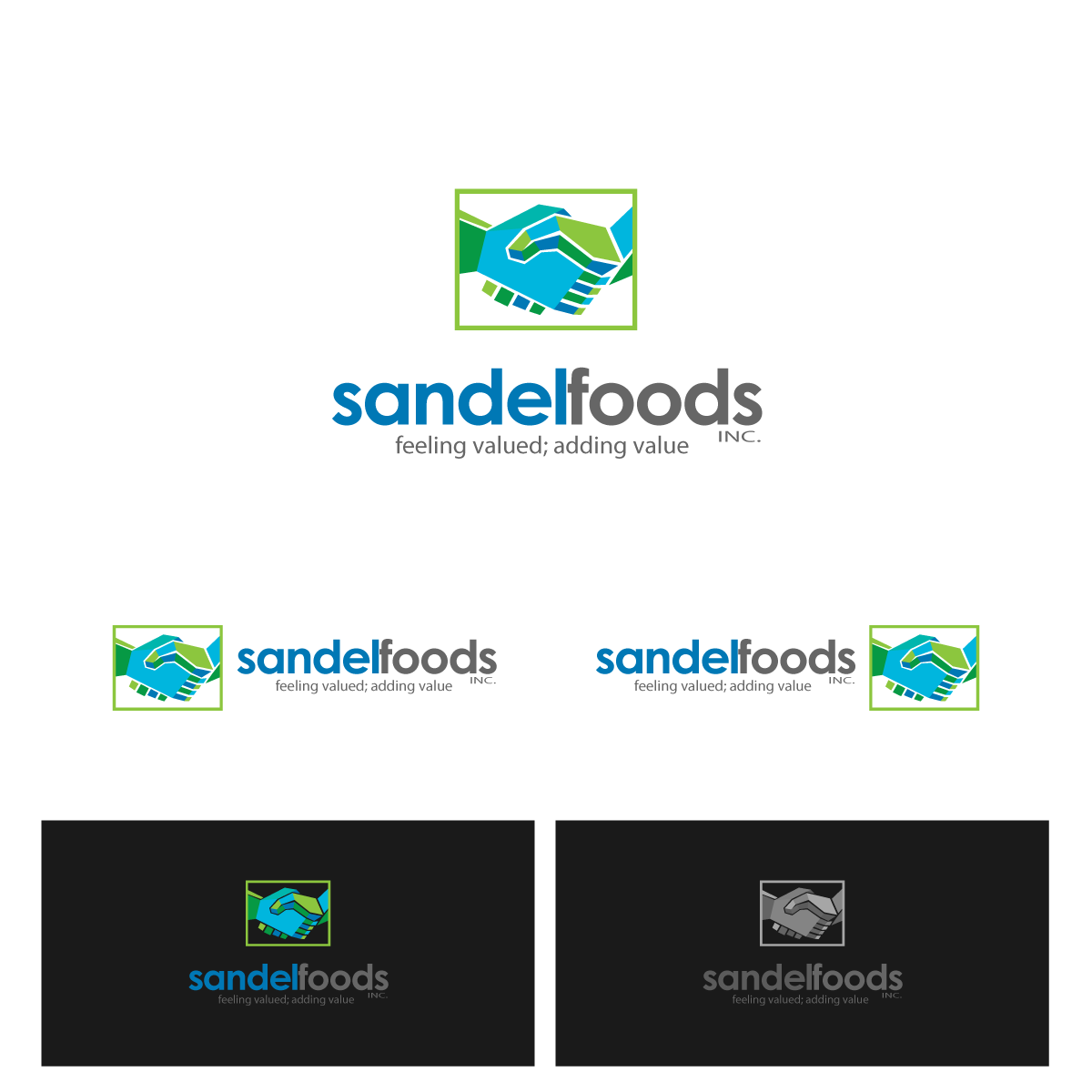 Logo Design by zesthar - Entry No. 66 in the Logo Design Contest Fun Logo Design for Sandel Foods Inc.