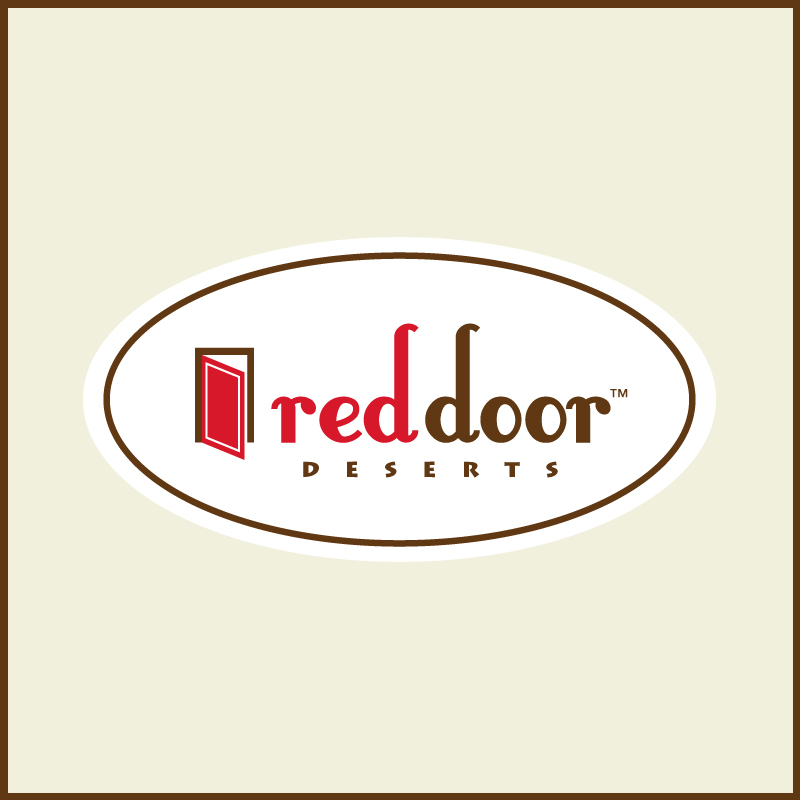 Logo Design by Number-Eight-Design - Entry No. 22 in the Logo Design Contest Fun Logo Design for Red Door Desserts.