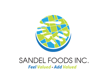 Logo Design by Agung Nugroho - Entry No. 71 in the Logo Design Contest Fun Logo Design for Sandel Foods Inc.