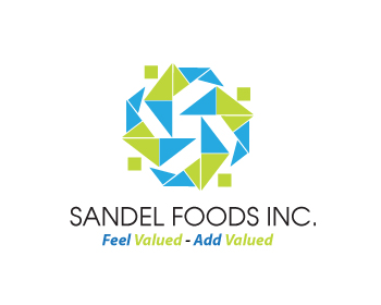 Logo Design by Agung Nugroho - Entry No. 73 in the Logo Design Contest Fun Logo Design for Sandel Foods Inc.