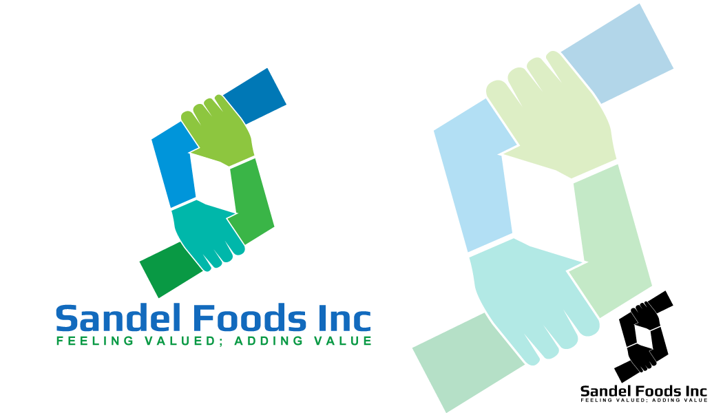 Logo Design by Crismar Abadilla - Entry No. 85 in the Logo Design Contest Fun Logo Design for Sandel Foods Inc.