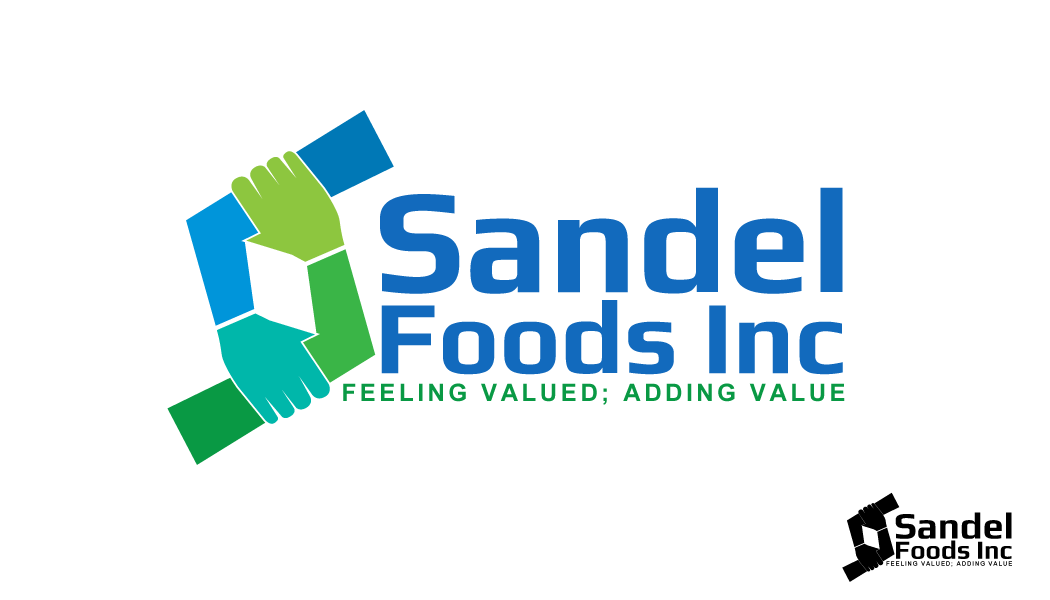 Logo Design by Crismar Abadilla - Entry No. 86 in the Logo Design Contest Fun Logo Design for Sandel Foods Inc.