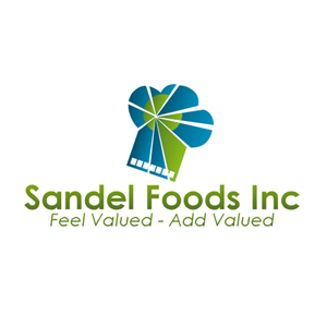 Logo Design by Rendra Jannu - Entry No. 87 in the Logo Design Contest Fun Logo Design for Sandel Foods Inc.