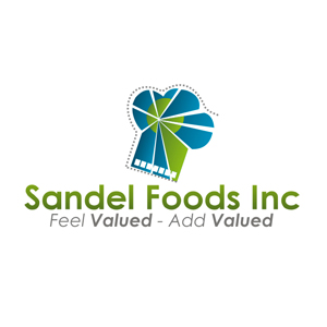Logo Design by Rendra Jannu - Entry No. 88 in the Logo Design Contest Fun Logo Design for Sandel Foods Inc.