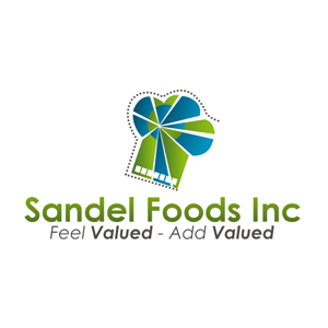 Logo Design by Rendra Jannu - Entry No. 90 in the Logo Design Contest Fun Logo Design for Sandel Foods Inc.