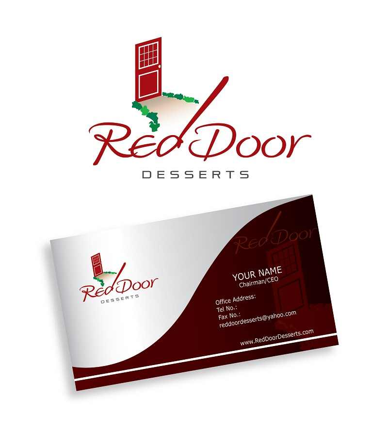 Logo Design by kowreck - Entry No. 27 in the Logo Design Contest Fun Logo Design for Red Door Desserts.