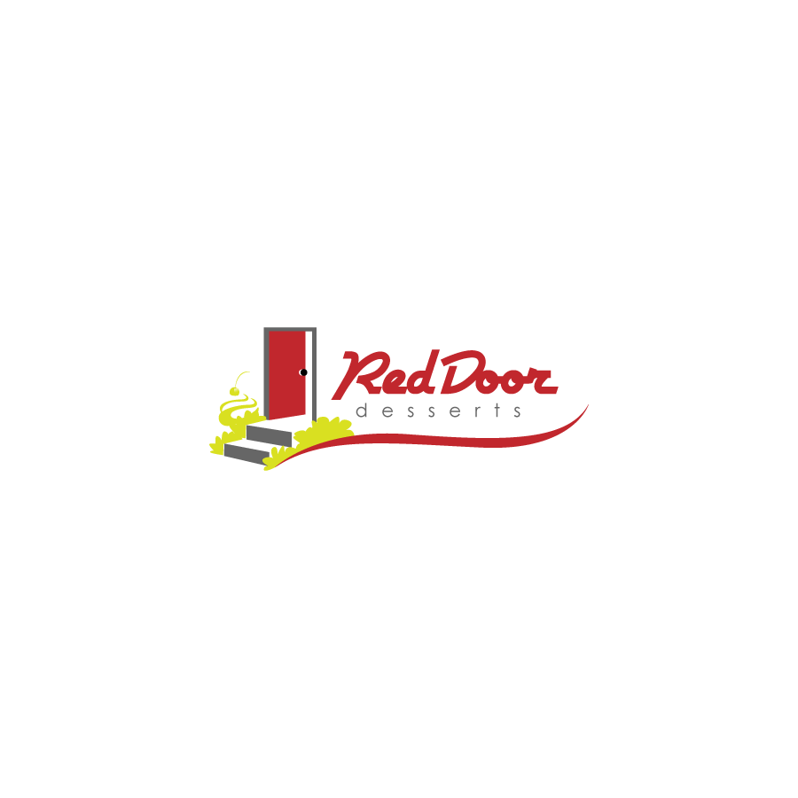 Logo Design by zesthar - Entry No. 34 in the Logo Design Contest Fun Logo Design for Red Door Desserts.