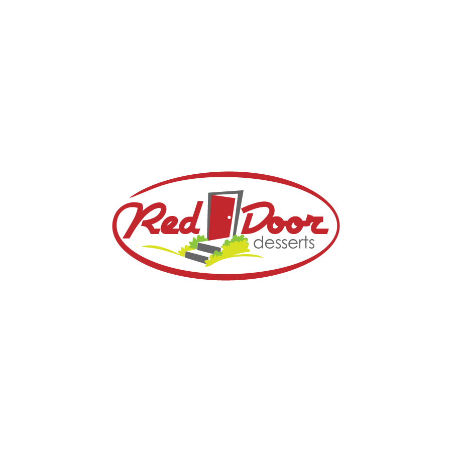 Logo Design by zesthar - Entry No. 35 in the Logo Design Contest Fun Logo Design for Red Door Desserts.