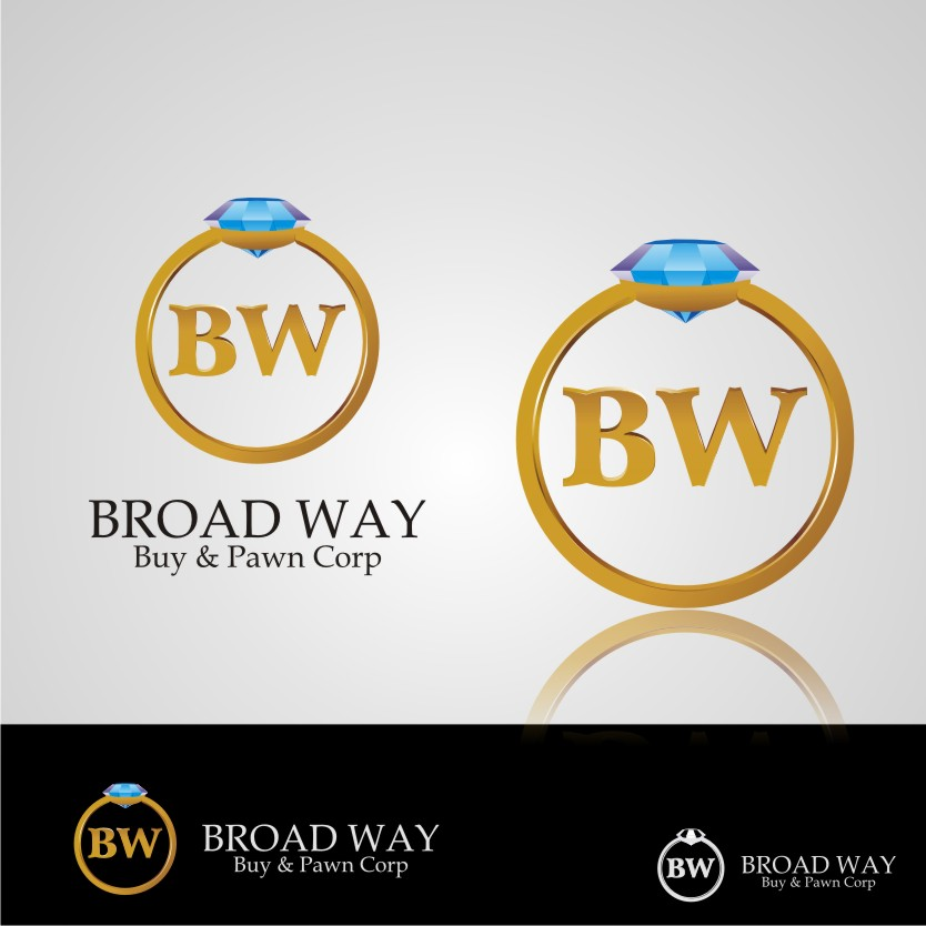 Logo Design by graphicleaf - Entry No. 49 in the Logo Design Contest Unique Logo Design Wanted for Broadway Buy & Pawn corp or BNP for short.