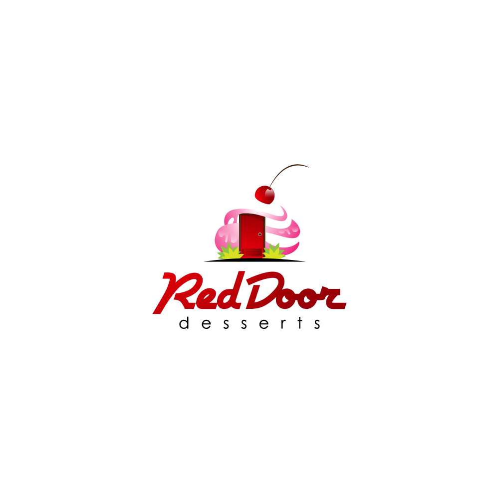 Logo Design by zesthar - Entry No. 40 in the Logo Design Contest Fun Logo Design for Red Door Desserts.