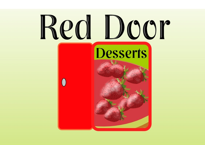 Logo Design by Private User - Entry No. 42 in the Logo Design Contest Fun Logo Design for Red Door Desserts.